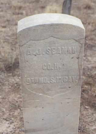 SEAMAN, A. J. - Delta County, Colorado | A. J. SEAMAN - Colorado Gravestone Photos
