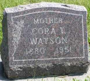SNYER WATSON, CORA T - Delta County, Colorado | CORA T SNYER WATSON - Colorado Gravestone Photos