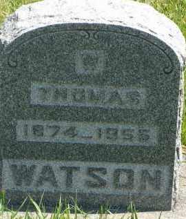 WATSON, THOMAS - Delta County, Colorado   THOMAS WATSON - Colorado Gravestone Photos