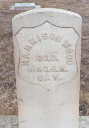 WOOD, HARRISON - Delta County, Colorado | HARRISON WOOD - Colorado Gravestone Photos