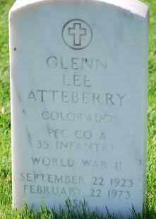 ATTEBERRY, GLENN LEE - Denver County, Colorado | GLENN LEE ATTEBERRY - Colorado Gravestone Photos