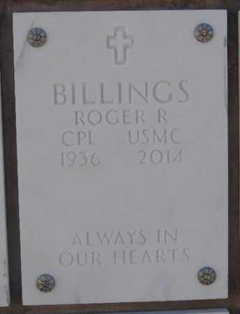 BILLINGS, ROGER R - Denver County, Colorado | ROGER R BILLINGS - Colorado Gravestone Photos