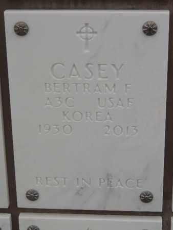 CASEY, BERTRAM F - Denver County, Colorado   BERTRAM F CASEY - Colorado Gravestone Photos