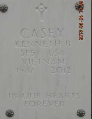 CASEY, KENNETH B - Denver County, Colorado | KENNETH B CASEY - Colorado Gravestone Photos
