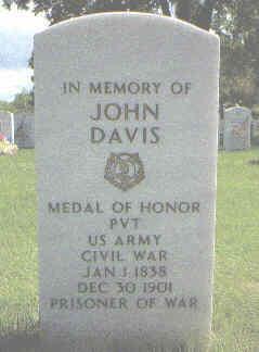 DAVIS, JOHN - Denver County, Colorado | JOHN DAVIS - Colorado Gravestone Photos