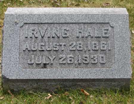 HALE, IRVING - Denver County, Colorado | IRVING HALE - Colorado Gravestone Photos