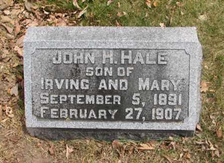HALE, JOHN H. - Denver County, Colorado | JOHN H. HALE - Colorado Gravestone Photos
