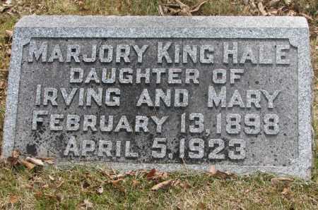 HALE, MARJORY KING - Denver County, Colorado | MARJORY KING HALE - Colorado Gravestone Photos