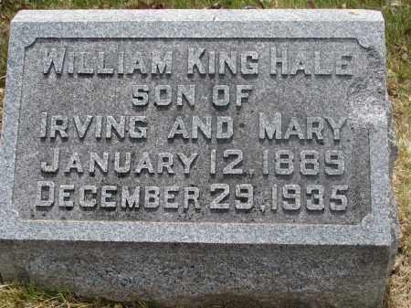 HALE, WILLIAM KING - Denver County, Colorado | WILLIAM KING HALE - Colorado Gravestone Photos