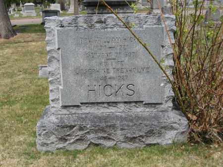 HICKS, WILLIAM - Denver County, Colorado | WILLIAM HICKS - Colorado Gravestone Photos