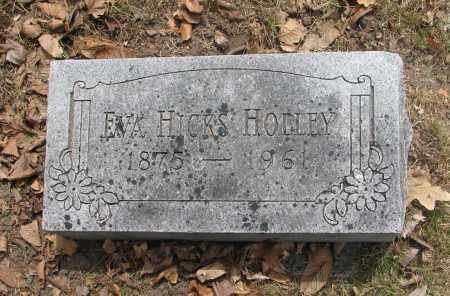 HICKS HOLLEY, EVA - Denver County, Colorado | EVA HICKS HOLLEY - Colorado Gravestone Photos