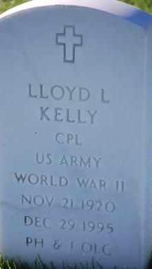 KELLY, LLOYD L - Denver County, Colorado   LLOYD L KELLY - Colorado Gravestone Photos