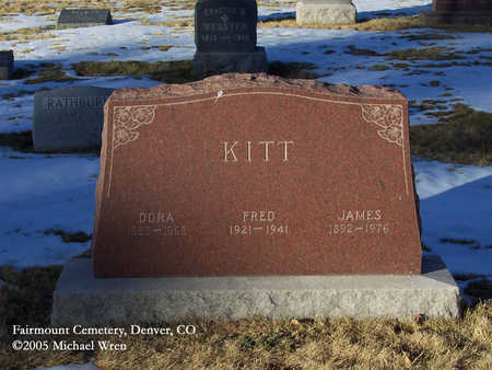 KITT, DORA - Denver County, Colorado | DORA KITT - Colorado Gravestone Photos