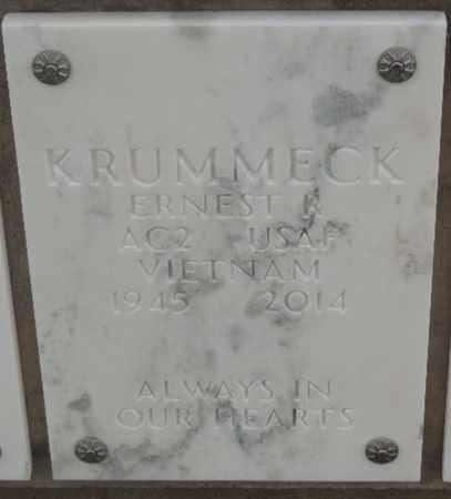 KRUMMECK, ERNEST R - Denver County, Colorado | ERNEST R KRUMMECK - Colorado Gravestone Photos