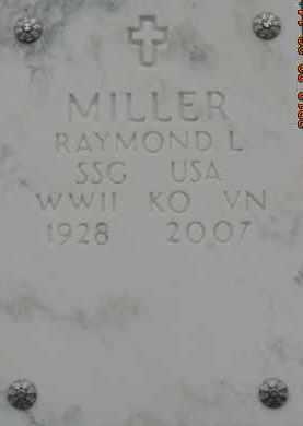 MILLER, RAYMOND L - Denver County, Colorado   RAYMOND L MILLER - Colorado Gravestone Photos