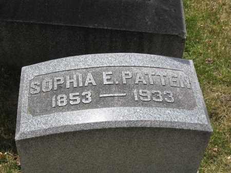PATTEN, SOPHIA E - Denver County, Colorado | SOPHIA E PATTEN - Colorado Gravestone Photos