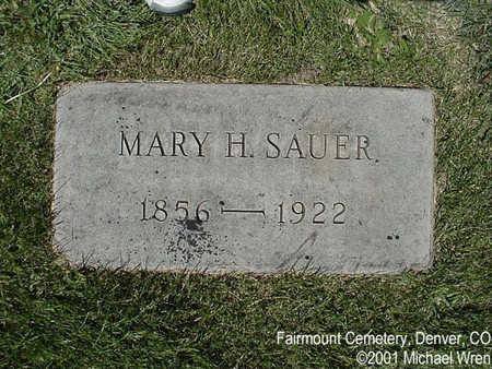 HUESGEN SAUER, MARY HELEN - Denver County, Colorado | MARY HELEN HUESGEN SAUER - Colorado Gravestone Photos