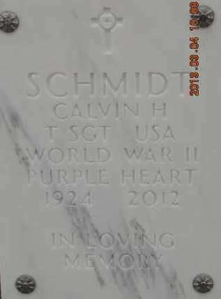 SCHMIDT, CALVIN H - Denver County, Colorado   CALVIN H SCHMIDT - Colorado Gravestone Photos