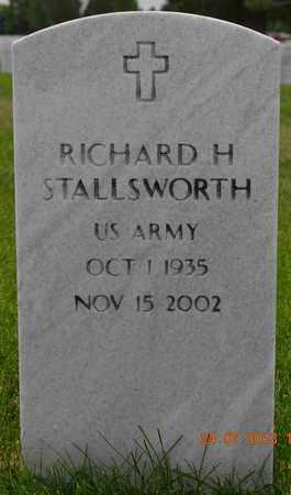 STALLSWORTH, RICHARD H. - Denver County, Colorado | RICHARD H. STALLSWORTH - Colorado Gravestone Photos