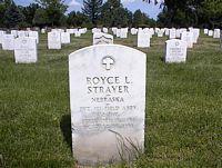 STRAYER, ROYCE L. - Denver County, Colorado | ROYCE L. STRAYER - Colorado Gravestone Photos