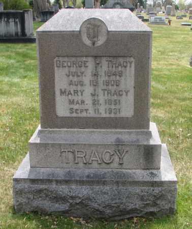 TRACY, MARY J. - Denver County, Colorado | MARY J. TRACY - Colorado Gravestone Photos