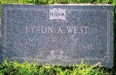 WEST, BYRON ARTHUR - Denver County, Colorado | BYRON ARTHUR WEST - Colorado Gravestone Photos