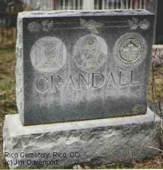 CRANDALL, NO NAME - Dolores County, Colorado | NO NAME CRANDALL - Colorado Gravestone Photos