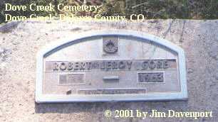 GORE, ROBERT LEROY - Dolores County, Colorado | ROBERT LEROY GORE - Colorado Gravestone Photos