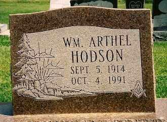 HODSON, WM ARTHEL - Dolores County, Colorado | WM ARTHEL HODSON - Colorado Gravestone Photos