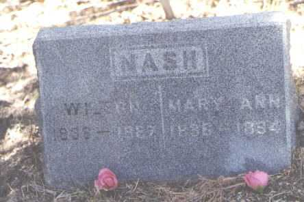 NASH, MARY ANN - Dolores County, Colorado | MARY ANN NASH - Colorado Gravestone Photos