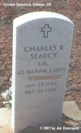 SEARCY, CHARLES R. - Dolores County, Colorado | CHARLES R. SEARCY - Colorado Gravestone Photos
