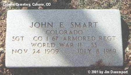 SMART, JOHN E. - Dolores County, Colorado   JOHN E. SMART - Colorado Gravestone Photos