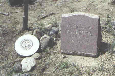 WILEMON, GEORGE W. - Dolores County, Colorado | GEORGE W. WILEMON - Colorado Gravestone Photos
