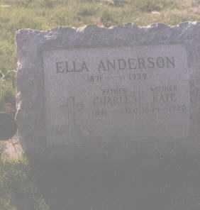 ANDERSON, ELLA - Douglas County, Colorado | ELLA ANDERSON - Colorado Gravestone Photos