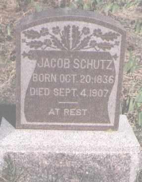 SCHUTZ, JACOB - Douglas County, Colorado | JACOB SCHUTZ - Colorado Gravestone Photos