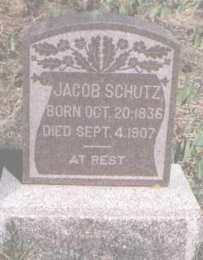 SCHUTZ, JACOB - Douglas County, Colorado   JACOB SCHUTZ - Colorado Gravestone Photos