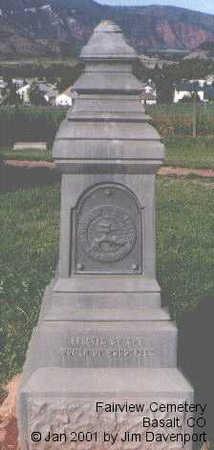 BURGIN, MRS. ALBERTA - Eagle County, Colorado | MRS. ALBERTA BURGIN - Colorado Gravestone Photos