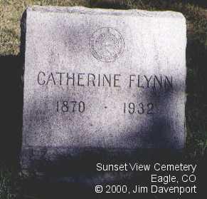 FLYNN, CATHERINE - Eagle County, Colorado | CATHERINE FLYNN - Colorado Gravestone Photos