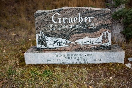 GRAEBER, DON - Eagle County, Colorado | DON GRAEBER - Colorado Gravestone Photos