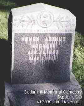 HOCKETT, HENRY ARTHUR - Eagle County, Colorado | HENRY ARTHUR HOCKETT - Colorado Gravestone Photos