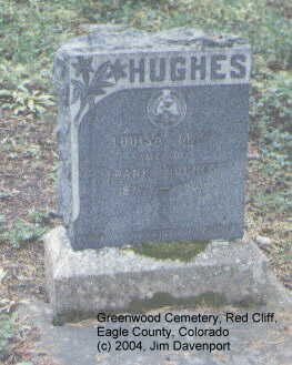 HUGHES, LOUISA MAY - Eagle County, Colorado | LOUISA MAY HUGHES - Colorado Gravestone Photos