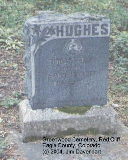 HUGHES, LOUISA MAY - Eagle County, Colorado | LOUISA MAY HUGHES - Colorado Gravestone Photos