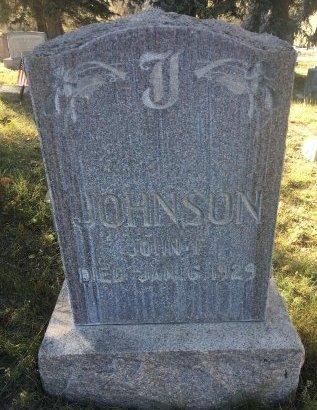 JOHNSON, JOHN F - Eagle County, Colorado | JOHN F JOHNSON - Colorado Gravestone Photos