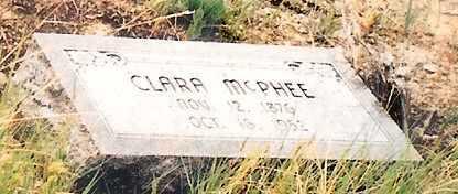 FORSTER MCPHEE, CLARA - Eagle County, Colorado | CLARA FORSTER MCPHEE - Colorado Gravestone Photos
