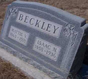 BECKLEY, MATTIE V. - Elbert County, Colorado | MATTIE V. BECKLEY - Colorado Gravestone Photos