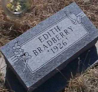 BRADBERRY, EDITH - Elbert County, Colorado   EDITH BRADBERRY - Colorado Gravestone Photos