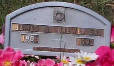 BREWER, JAMES L., SR. - Elbert County, Colorado | JAMES L., SR. BREWER - Colorado Gravestone Photos