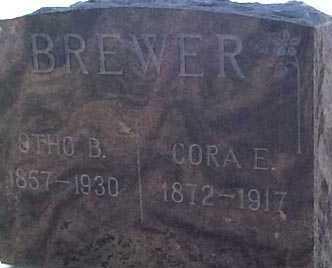 BREWER, CORA E. - Elbert County, Colorado | CORA E. BREWER - Colorado Gravestone Photos
