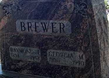 BREWER, RAYMOND I. - Elbert County, Colorado | RAYMOND I. BREWER - Colorado Gravestone Photos
