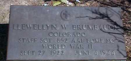 BRUMBAUGH, LLEWELLYN W - Elbert County, Colorado | LLEWELLYN W BRUMBAUGH - Colorado Gravestone Photos